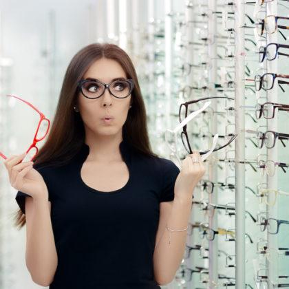 Brille und Gesichtsform Optiker Steiermark